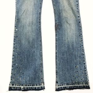 Buffalo David Bitton Jeans - BUFFALO David Bitton Rox-X Sparkle Denim Jeans 30